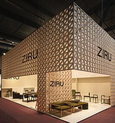 Ziru, a manufacturer of contemporary furniture, at the Salone del Mobile.  http://www.rife-design.com/interior/2011/177-ziru-stand#