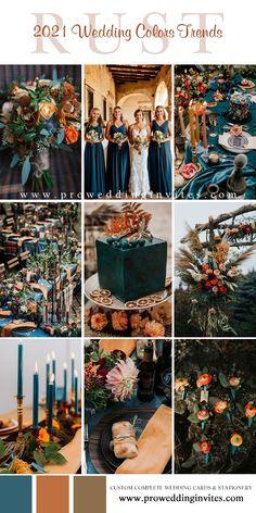 Wedding Color Pallet, Fall Wedding Colors, Wedding Color Schemes, October Wedding Colors, Orange Wedding Colors, Rustic Wedding Colors, Wedding Themes, Wedding Designs, Invites Wedding
