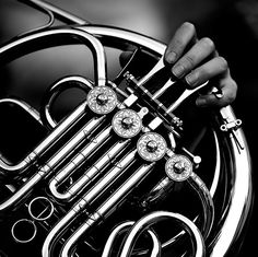 40 Best Black and White Photography examples from top photographers - Andy Munn - Deep Nostalgia Animals Black And White, Black And White Abstract, Black And White Pictures, Andy Black, Sound Of Music, Music Is Life, Mellophone, French Horn, Top Photographers