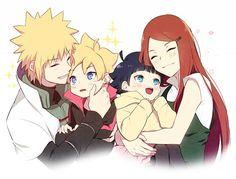 Naruto: Kushina and Minato Naruto Gaiden: Boruto and Himawari