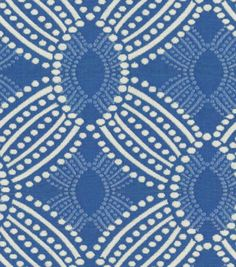 Love the pattern - Upholstery Fabric-HGTV HOME Time Zone Azure at Joann.com