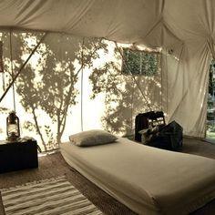 ✭ tent bedroom