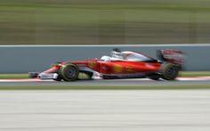 GP d'Espagne: Vettel le plus rapide de la première séance d'essais libres -                  L'Allemand Sebastian Vettel (Ferrari) a réalisé le meilleur temps de la première séance d'essais libres du Grand Prix d'Espagne, 5e manche (sur 21) du championnat du monde de Formule 1, vendredi matin sur le circuit de Catalogne (4,655 km) à Montmelo, près de Barcelone.  http://si.rosselcdn.net/sites/default/files/image