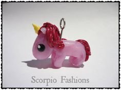 Maren the Pink Unicorn Mini Baby Unicorn by ScorpioFashions