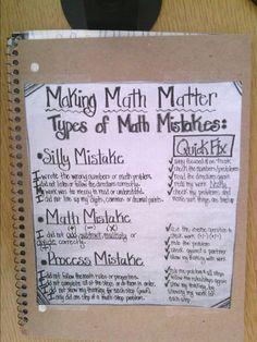 Tales of a High School Math Teacher: Notebook Set-Ups - Mathe Ideen 2020 Notebook Diy, Notebook Doodles, Teacher Notebook, Notebook Covers, Journal Covers, Math Tutor, Math Teacher, Teaching Math, Teacher Stuff