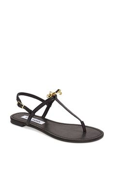 db6812f829b6e Naughty Monkey  Goldie Locks  Beaded Thong Sandal available at  Nordstrom