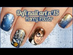 CHERRY NAIL ART - Blog mode et beauté: Nail art Harry Potter