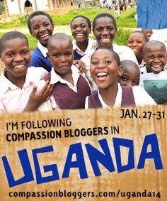 Compassion Bloggers visit Uganda
