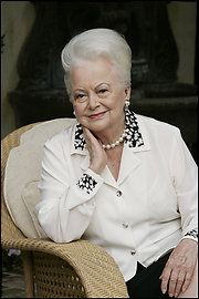 "Happy 97th Birthday Olivia de Havilland! Holy Cow! My fave movie of hers was ""My Cousin Rachel,"" which introduced Richard Burton to the US."