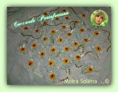 Coccarde Portafortuna con coccinella per decorare le confezioni regalo!