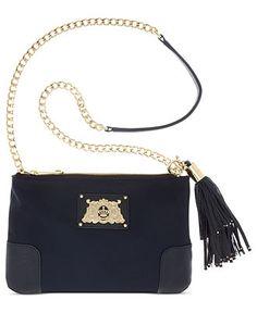 Juicy Couture Handbag, Easy Everyday Nylon Louisa Crossbody - Crossbody & Messenger Bags - Handbags & Accessories - Macy's