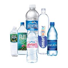 FLUORIDE CONTENT OF BOTTLED WATER! Your body doesn't need fluoride anymore than it needs rat poison (and did you know that rat poison is another common use for fluoride? Drinking Water, Bottled Water, Water Bottles, Spring Water Bottle, Water Facts, Storing Water, Agua Mineral, Water Company, Water Branding