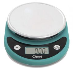 The easy-to-use Pronto Digital Kitchen Scale is ideal for all your cooking projects. Features an easy-to-read LCD screen and instantly converts between 5 units of measurements (g, lb. Powers off automatically after 2 minutes. Kitchen Tools, Kitchen Gadgets, Kitchen Ideas, Digital Food Scale, Electronic Scale, Digital Kitchen Scales, Baking Tools, Aesthetic Design, Bakeware