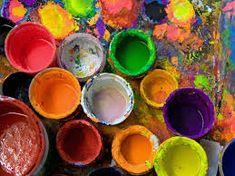 The start of creativity!
