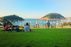 Relax sobre la hierba // San Sebastián