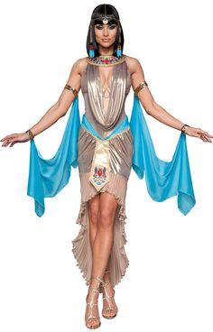 Womens X-Small Pharaoh's Treasure Sexy Costume - Egyptian Costumes                                                                                                                                                                                 Mais