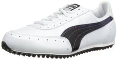 Offering a money back satisfaction guarantee these womens cat 2 golf shoes by Puma are made from synthetic material with a rubber sole