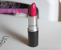 M.A.C.'s Girl About Town lipstick