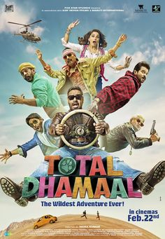 Total Dhamaal Box Office Collection Prediction Business Hit or Flop Verdict: Total Dhamaal is the third part of hit Dhamaal Series. Movie has created buzz since the trailer of Total Dhamaal is launched. The movie is releasing on February, Movies To Watch, Good Movies, Movies Free, Aquaman, Films Hd, Office Movie, Film Streaming Vf, Movies 2019, Rabbits