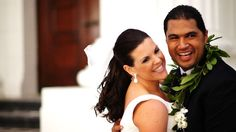 Stephanie & Sam from the Biggest Loser.  What a story you guys have.  I love the wedding video!