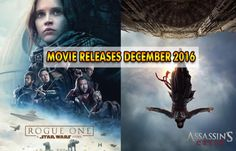 Movie Releases in December 2016: Jackie, Rogue One: A Star Wars Story, Passengers, Assassin's Creed and More