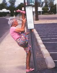 """flexibility -- So much for my, """"but I'm old!"""" excuse!"""