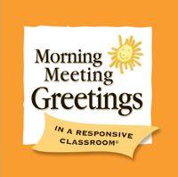 Morning Meeting For Teachers
