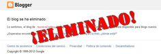 ¿Te han eliminado tu blog por SPAM?, ¿qué tanto conoces sobre el spam en Internet y en Google que no es el envío de emails?. Blog, Internet, Google, Tips, Blogging