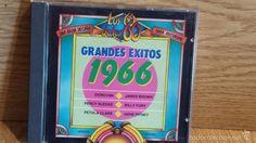 GRANDES ÉXITOS 1966. CD / ZAFIRO - 1993. 14 TEMAS / CALIDAD LUJO.