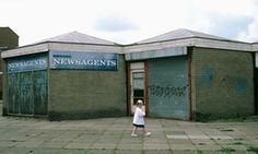 Five stories buried by Brexit Frances Ryan: A small girl walks past a closed-down shop on an estate in Skelmersdale, Lancashire