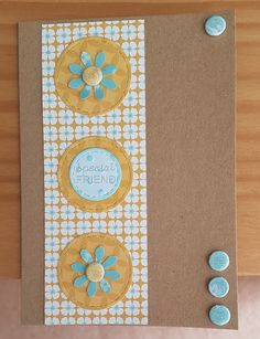 Julie Loves Daisy Ditzy Dotty by Craftwork Cards. Made by Jane Compton