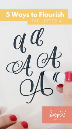 Hand Lettering Alphabet, Doodle Lettering, Hand Lettering Quotes, Calligraphy Alphabet, Brush Lettering, Calligraphy Markers, Calligraphy Tutorial, Hand Lettering Tutorial, Learn Calligraphy