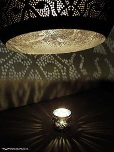 filigrain lampen - Het lichteffect van een egyptische filigrainlamp is bijzonder sfeervol en gemaakt van de beste kwaliteit verzilverd koper