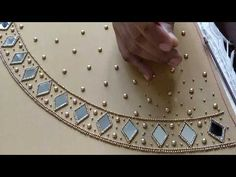 Crochet Tassels   Making of Crochet Saree Tassels   Elegant Bridal Design   knottythreadz.com - YouTube