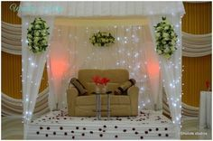 Nigerian Wedding Decor Ideas - Photos of Wedding Decoration Inspiration from real white and traditional weddings African Traditional Wedding Dress, Traditional Wedding Decor, Living Room Decor Traditional, Wedding Decorations Pictures, Wedding Hall Decorations, Wedding Ideas, Room Decorations, Wedding Inspiration, African Wedding Theme