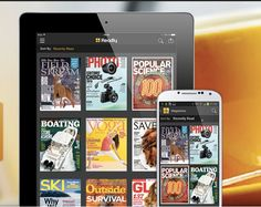 Magazines on your tablet and phone- Windows, Apple, and Android!