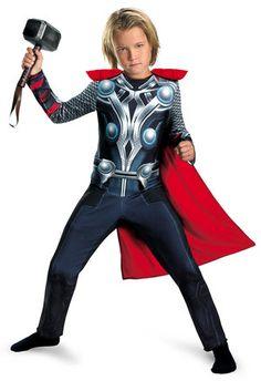 Boys Thor Avengers Movie Kids Costume