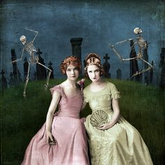 Beth Conklin. I like the feel of this piece, the colors and faces. Very nice