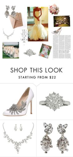 """""""The big day"""" by hageranne on Polyvore featuring Vera Wang, Manolo Blahnik, Victoria Beckham and Rika"""