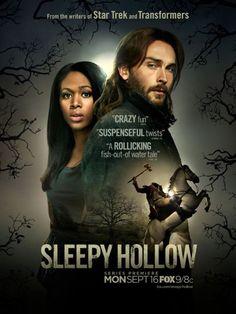 sleepy hollow FOX ~absolutely insane but very entertaining, tall, hot British guy (Tom Mison) a bonus!