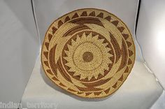 Antique-Hupa-Indian-Basketry-Bowl-with-Sunburst-Center-Motif-c-1915