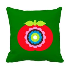Pillow cover Apple