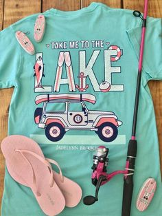 Take Me To The Lake (Chalky Mint) - Short Sleeve                           | Jadelynn Brooke®
