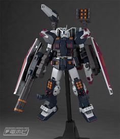 MG 1/100 Full Armor Gundam Thunderbolt Ver. Ka Sample Images by Dengeki Hobby - Gundam Kits Collection News and Reviews