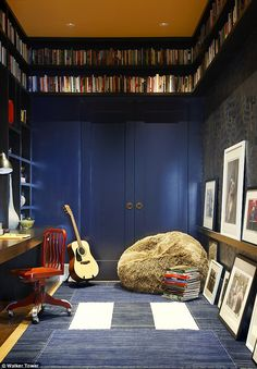 great use of small space - upper storage