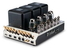 McIntosh MC275 Most Admired 2 Channel Tube Amplifier With Seven Small LED Tubes