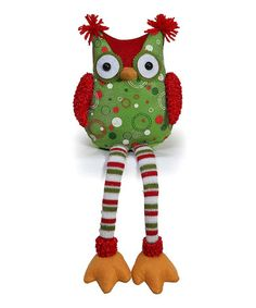 This Owl Shelf Sitter Figurine by GCA International is perfect! #zulilyfinds