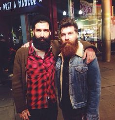 Beard Brothers. Men.