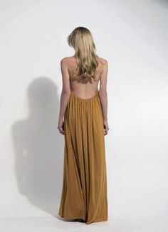 The Victoria Dress, Tan Victoria Dress, Backless, London, Holiday, Skirts, Collection, Dresses, Fashion, Vestidos