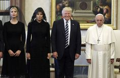 Pope Francis is a notable Trump critic, and social media was quick to circulate a certain photo of the pair.